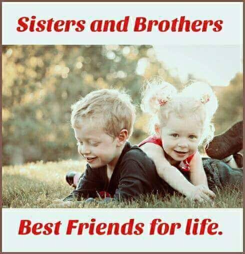 Best Friends Of Life Brother And Sister Relationship I Love My Brother Sisters
