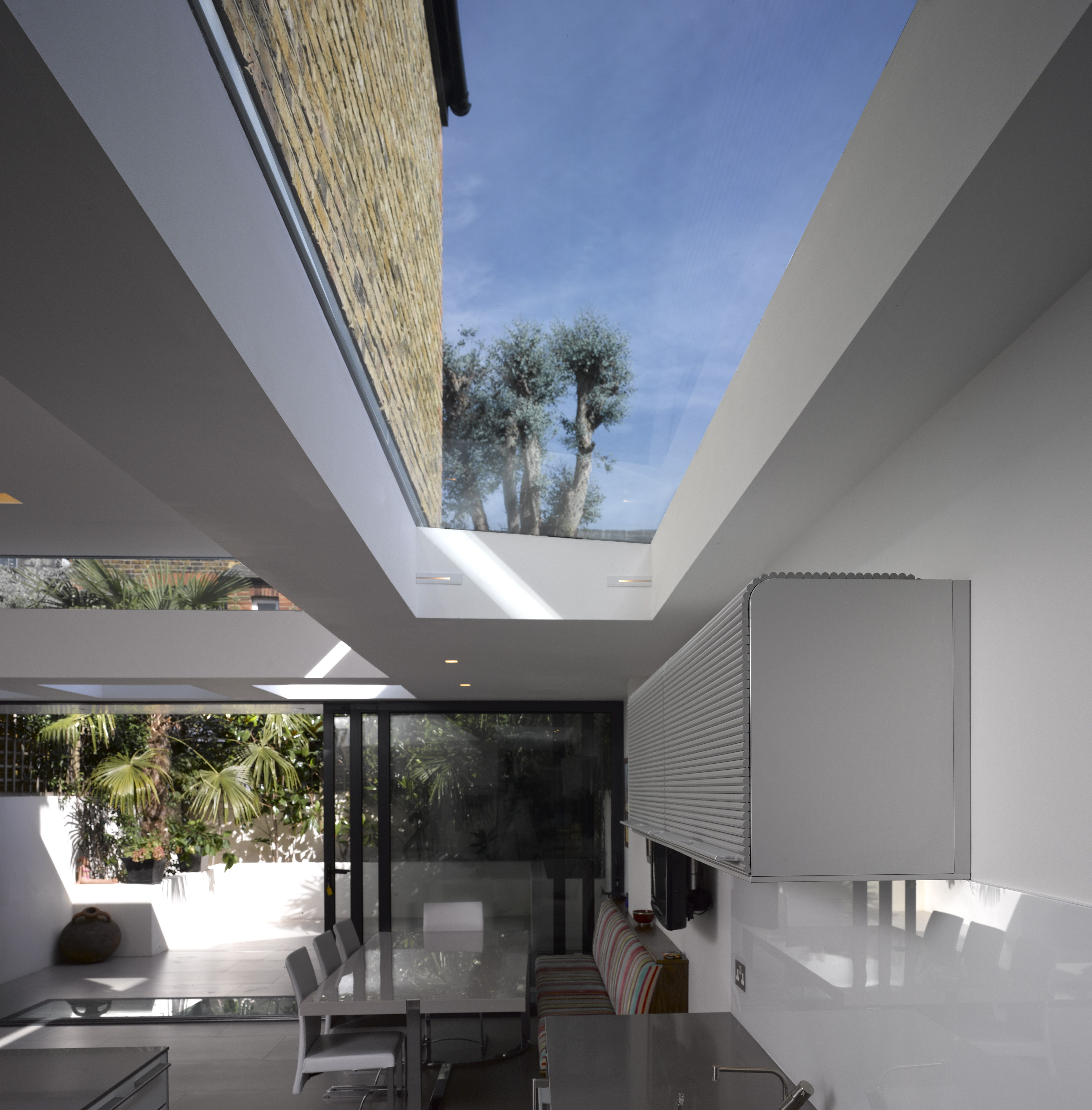 skylight private house london sw6 giles pike architects roof lights and lightwells. Black Bedroom Furniture Sets. Home Design Ideas