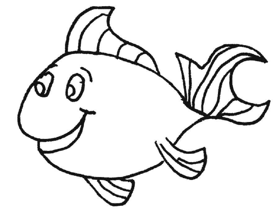 Dibujos de peces para colorear e imprimir gratis | Pez | Peces
