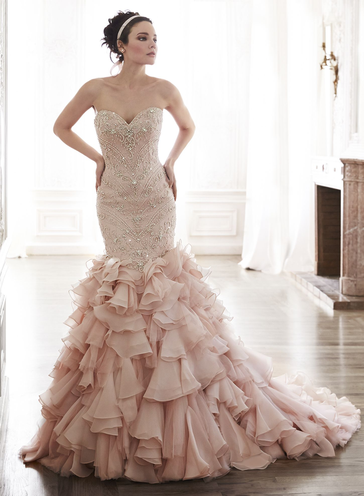 Serencia - by Maggie Sottero  petros06 PLEASE PLEAS PLEASE wear this!!! If  I ever get married this is it!!!!! LOVE! 35456980dedd