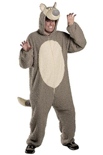 halloween costumes princess paradise mens adult big bad wolf small medium