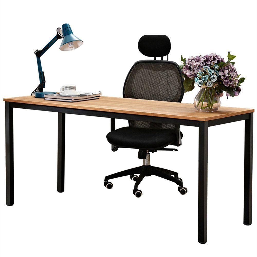 Fine Amazon Com Dland 63 X Large Computer Desk Bs1 160Tb Home Interior And Landscaping Palasignezvosmurscom