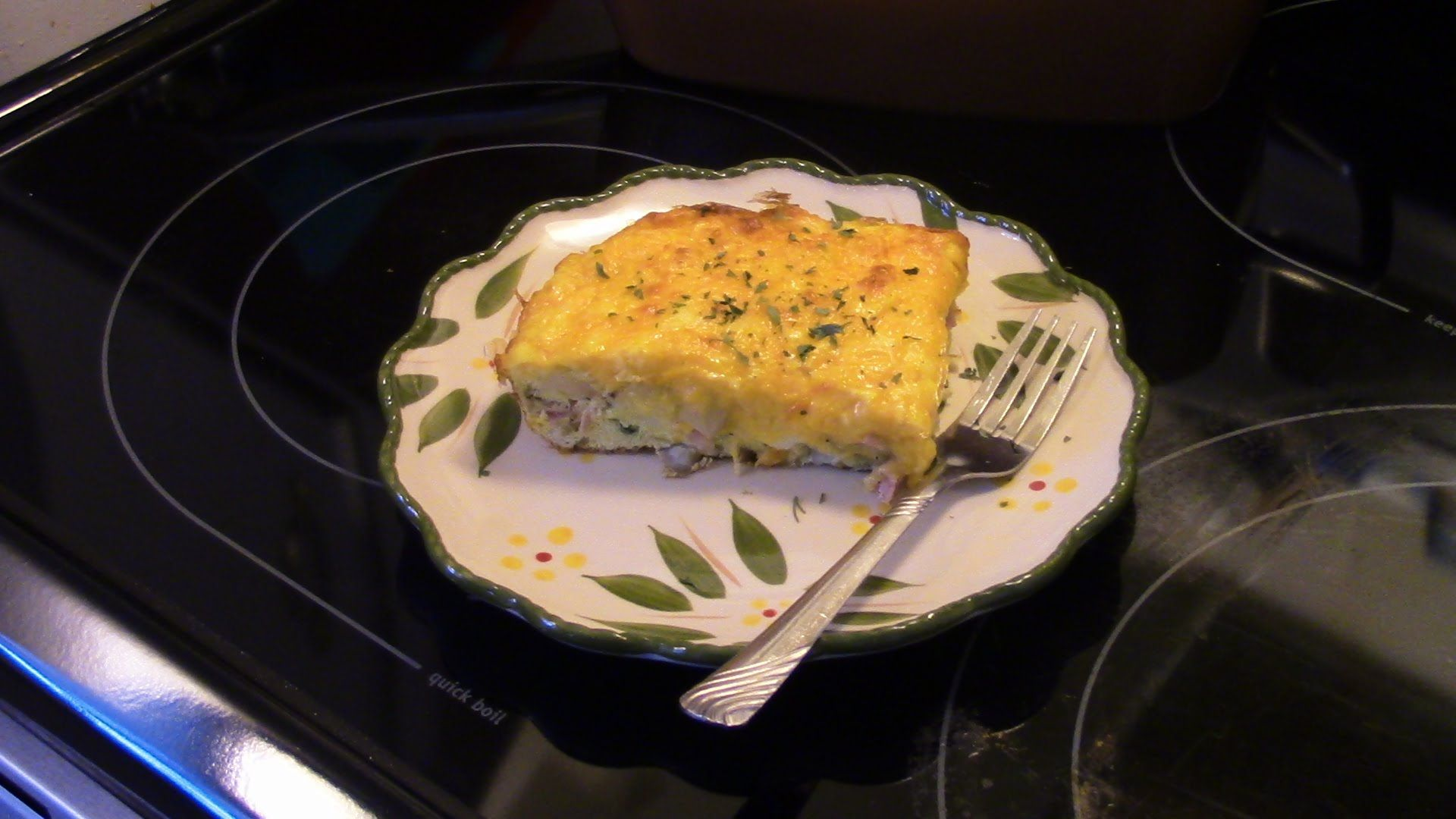 Frittata In Square Pan