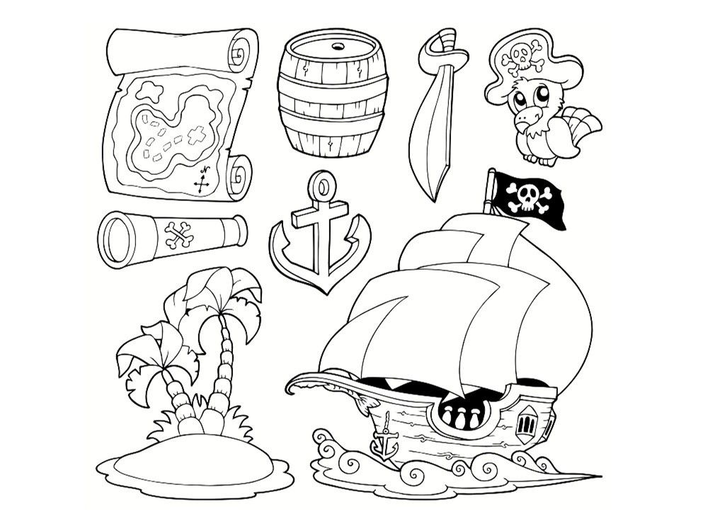 Coloriage Pirate 25 Dessins à Imprimer Pirate Dessin A