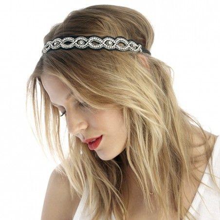 Sole Society - crystal cutout headband