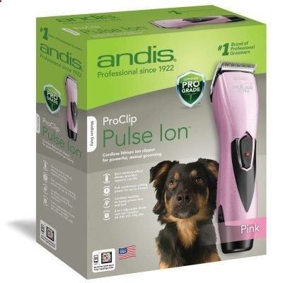Dog Grooming Clippers Parts Pulse Ion Clipper Pink Andis
