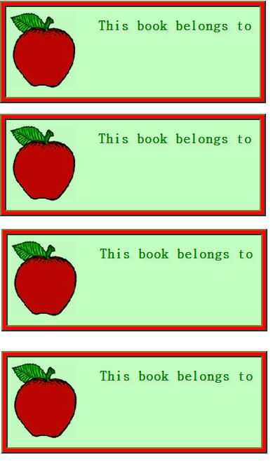 free kids labels free printable book labels welcome back to school - Printable Books For Kids