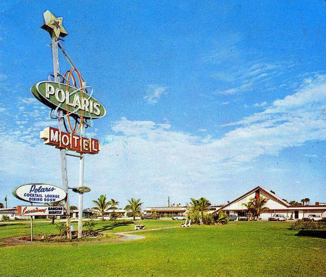 Polaris Motel Cocoa Beach Florida Cocoa Beach Old Florida