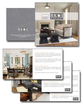 Brochure  Marketing    Interiors