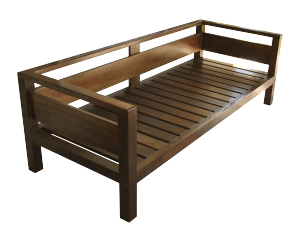 Resultado de imagen para sillones madera carpinter a for Sillones rusticos de madera