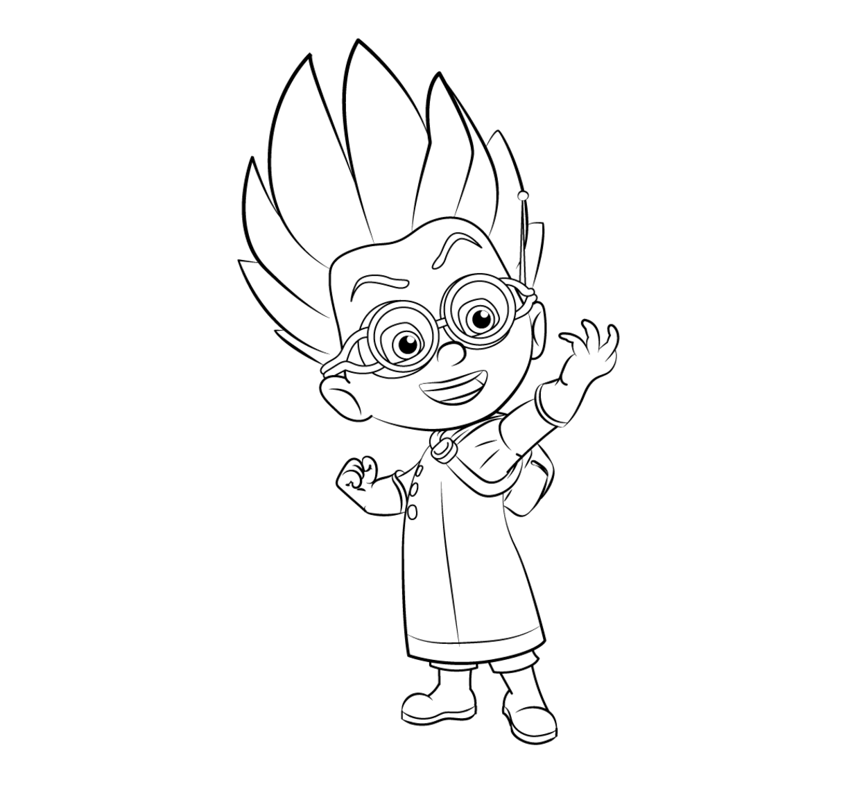 Pj Masks Coloring Pages To Download And Print For Free Colouring