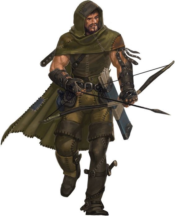 Rugged Ranger Dungeons And Dragons Characters Character Portraits Pathfinder Character