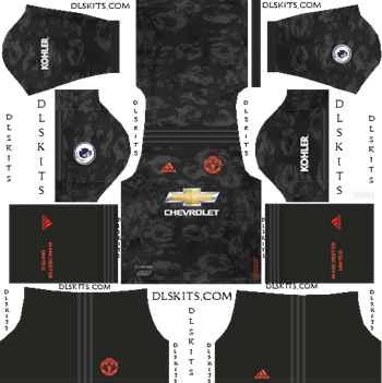 Manchester United Kit 2019 2020 Dream League Soccer Kits And Logo In 2020 Soccer Kits Manchester United Away Kit Liverpool Goalkeeper