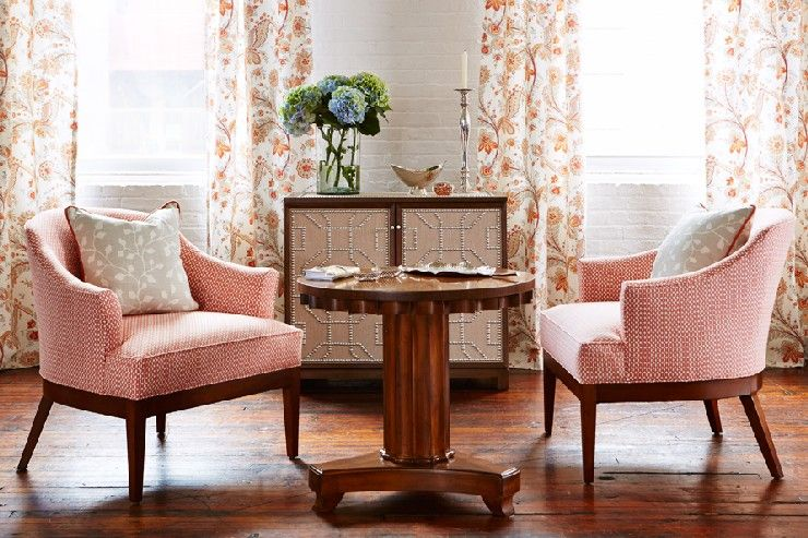 7 Sara Richardson Chairs And Curtains Made From Sarahs Kravet Fabric Ine  7 Sara Richardson Chairs And Curtains Made From Sarahs Kravet Fabric Ine