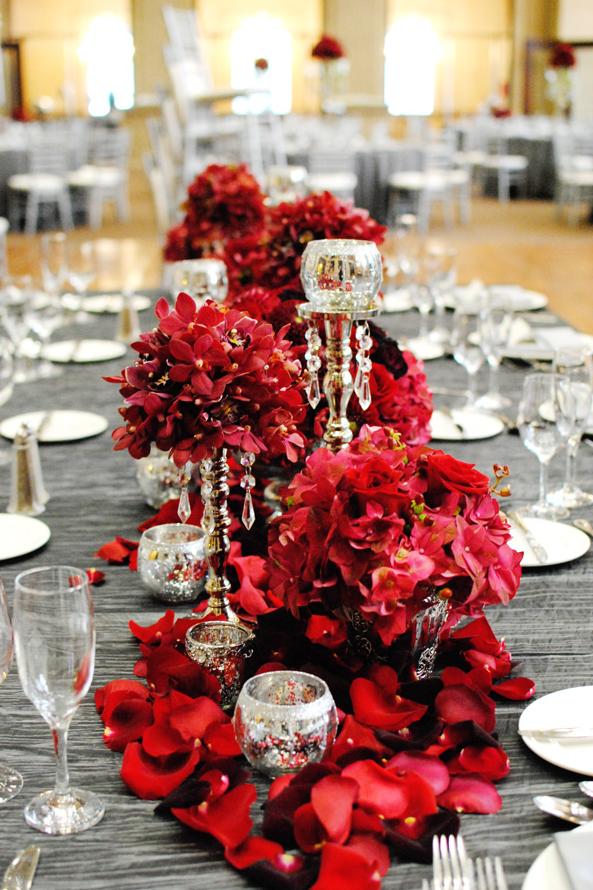 Fuscia Designs Cynthia Martyn Png 593 890 Pixels Red Wedding Red Wedding Receptions Wedding Colors Red