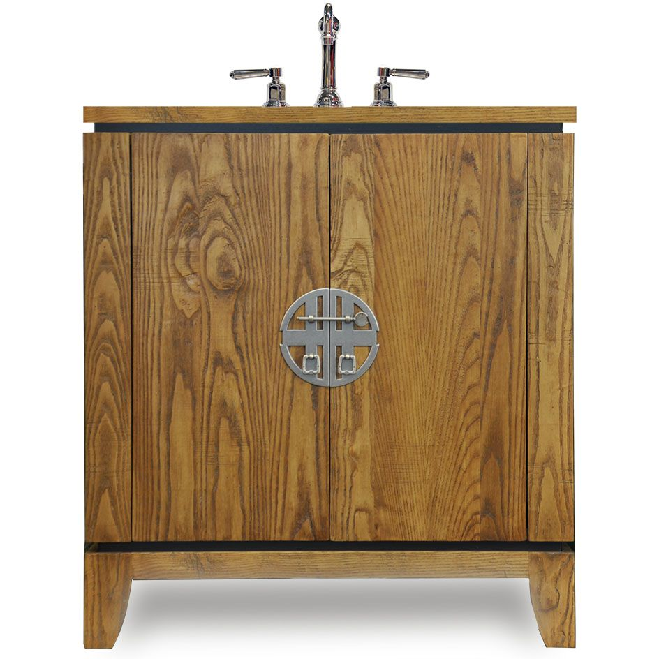 This Mesa Bathroom Sink Base Cabinet Is Shown In Solid Safras Height Accommodates Both Drop And Vessel Sinks