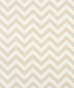 Premier Prints Zig Zag Khaki/Natural Fabric