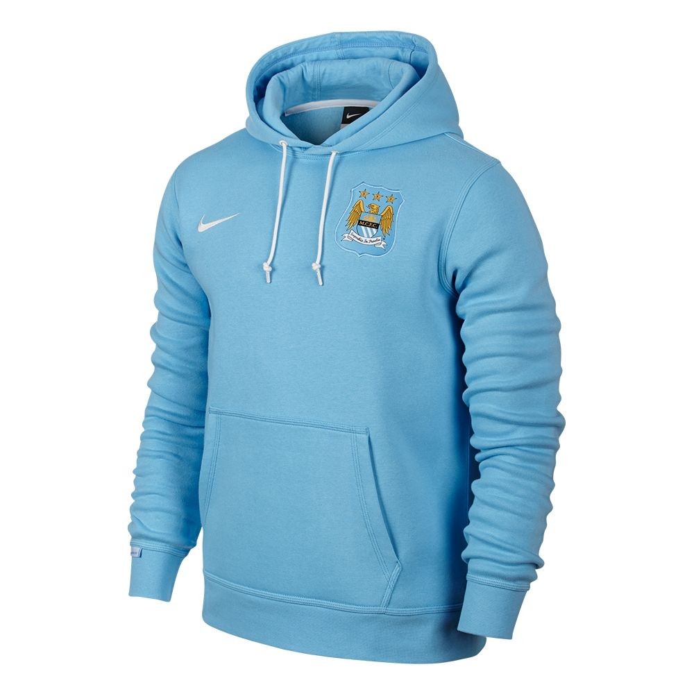 Nike Manchester City Core Hoodie | Manchester City Outerwear | Nike  Manchester City Core Soccer Hoodie (Field Blue/White) | 693078-488 |  SOCCERCORNER.com