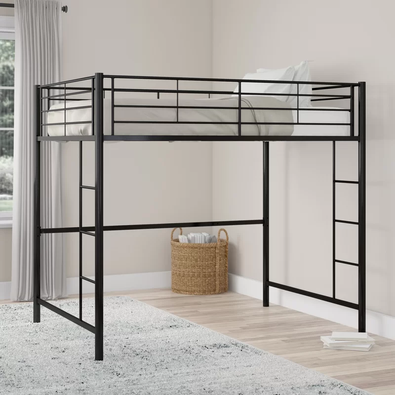 Maurice Full Loft Bed Loft Bed Twin Loft Bed Low Loft Beds