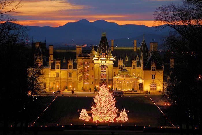 Biltmore House At Christmas Asheville Nc Biltmore