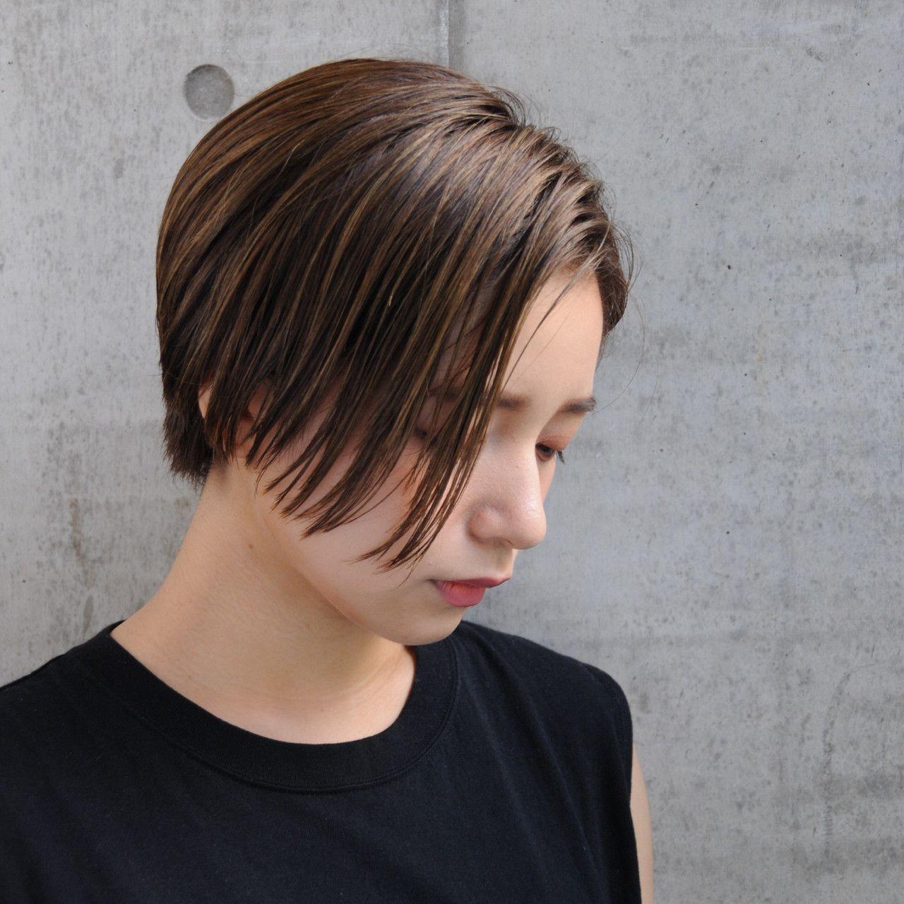 ボード ショートヘア Short Hair のピン