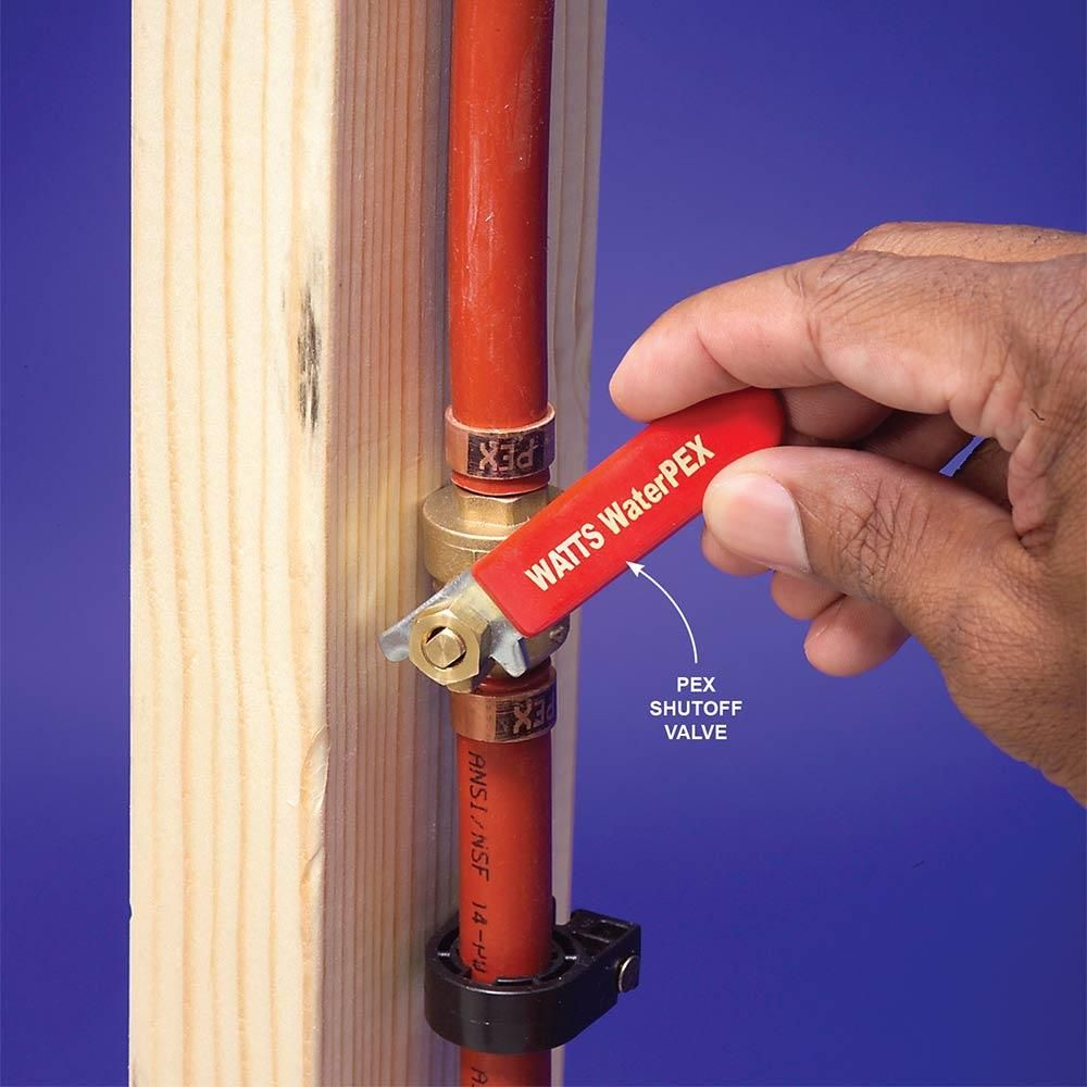 Plumbing with pex tubing pex tubing pex plumbing and for Using pex for drain lines