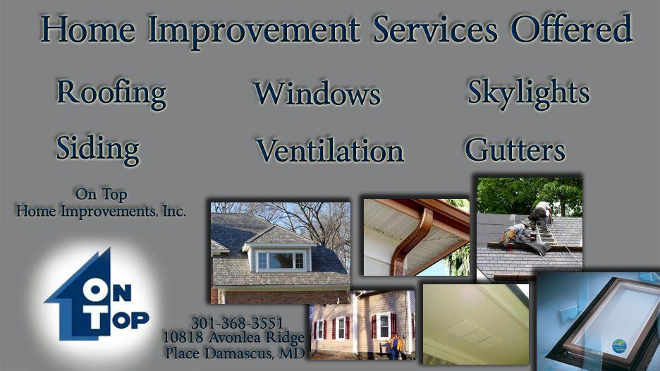 Www Ontophome Com Roof Repair Roof Window Gutters