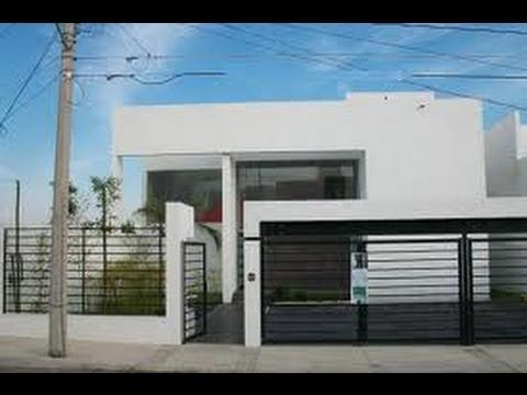 Fachadas de casas modernas con rejas fachadas for Ideas de casas modernas