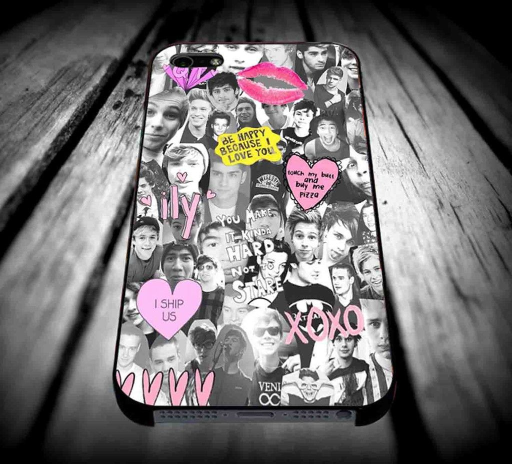 5 second of summer collage art for iPhone 4/4s/5/5s/5c/6/6 Plus Case, Samsung Galaxy S3/S4/S5/Note 3/4 Case, iPod 4/5 Case, HtC One M7 M8 and Nexus Case ***