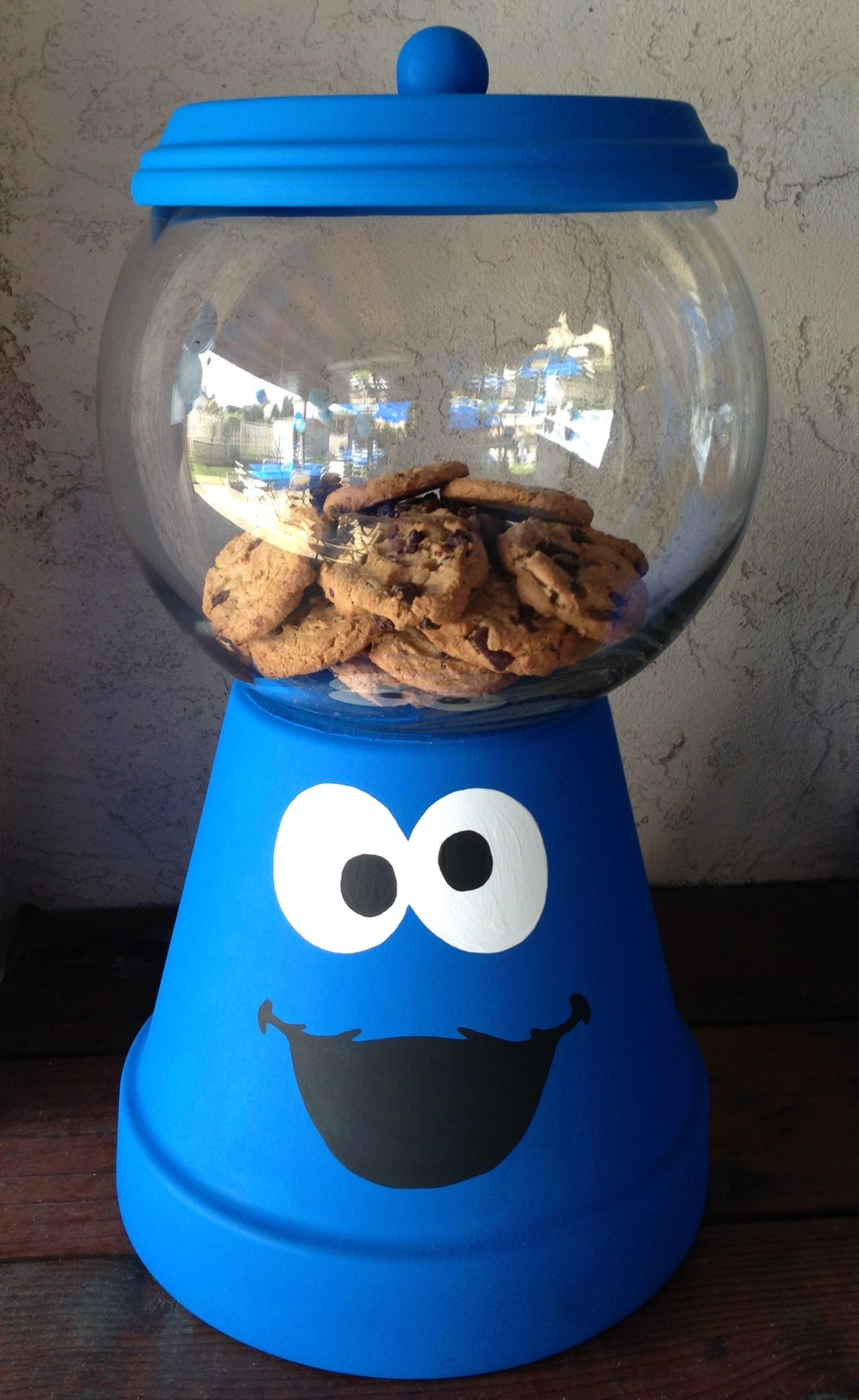Cookie Monster Centerpiece Cookie Monster Party