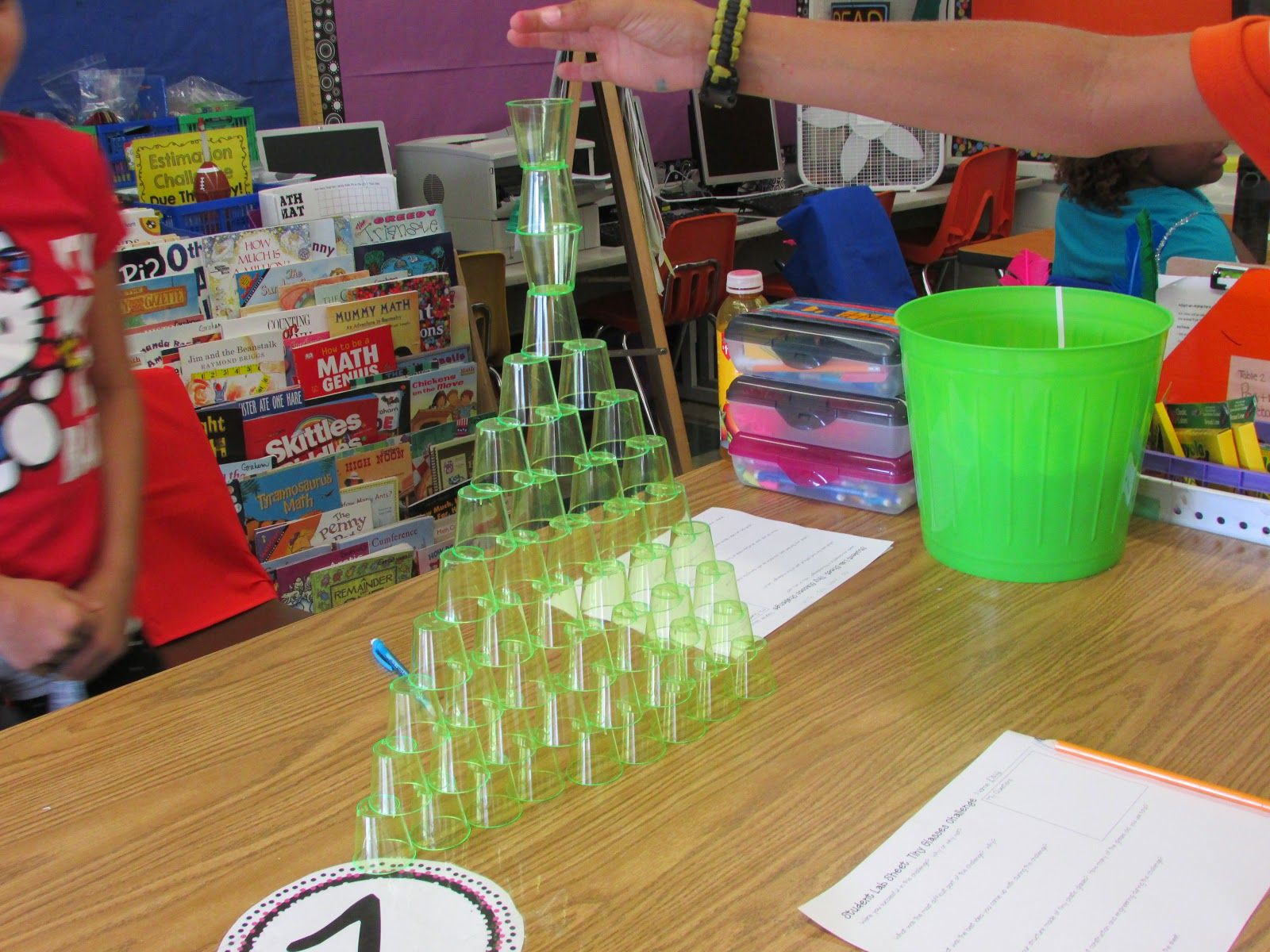 Creating Tallest Cup Tower Stem Challenge August