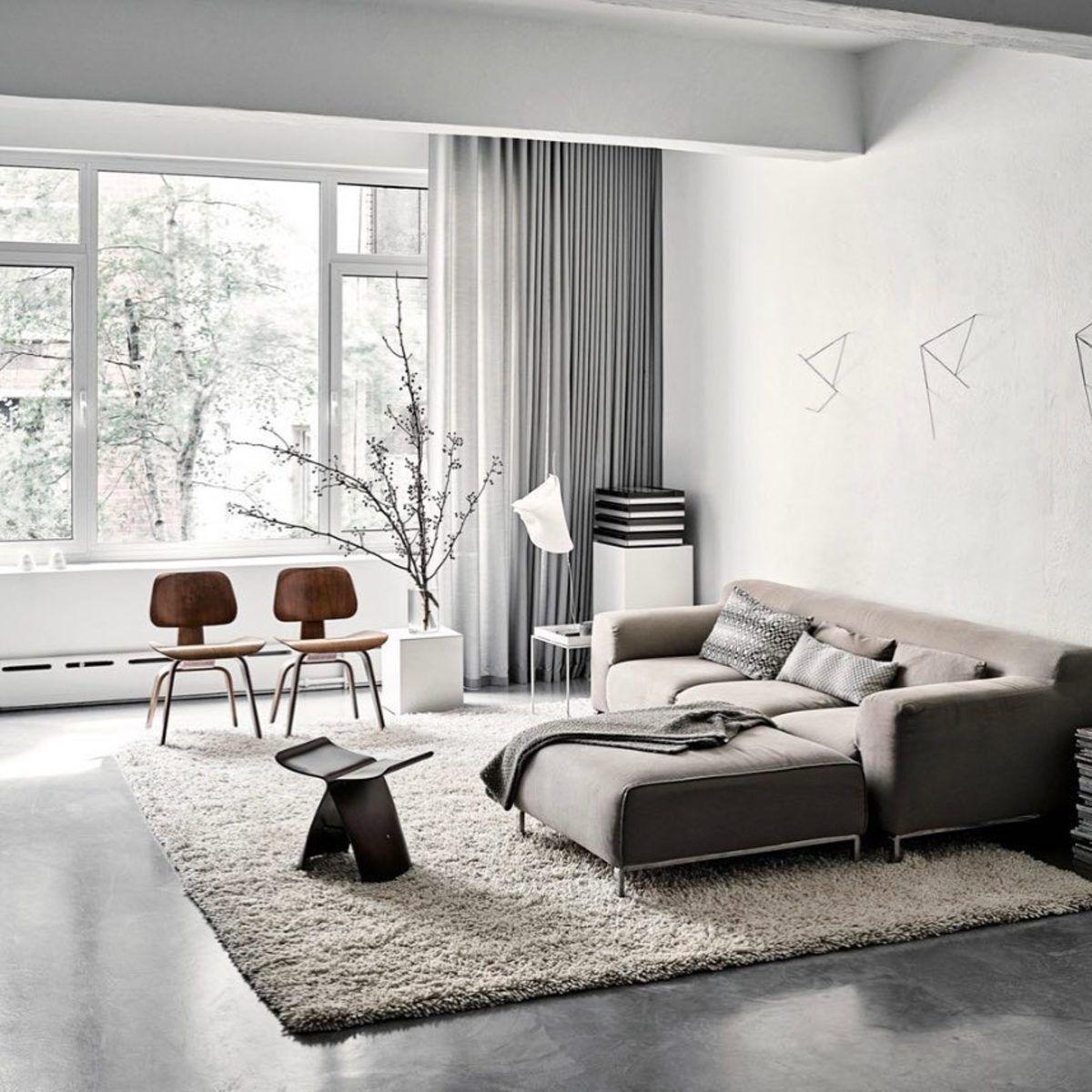 Minimal Interior Design Inspiration   212   Interior design living room modern, Minimalism ...