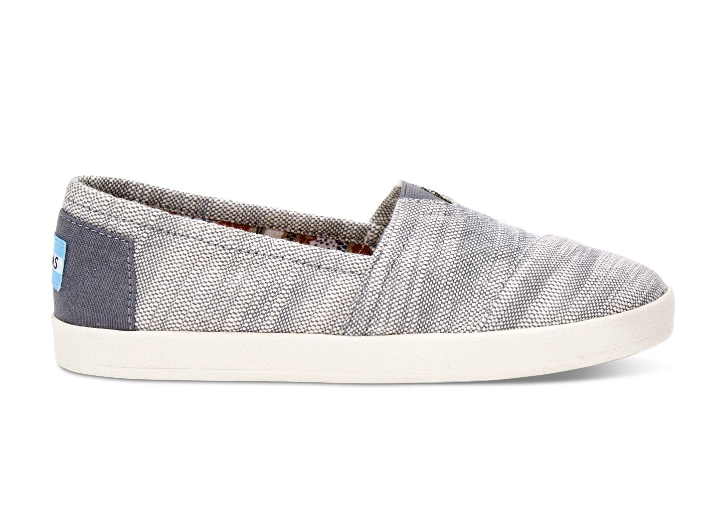 The Avalon features all the slip-on goodness of TOMS Classics, with the  added