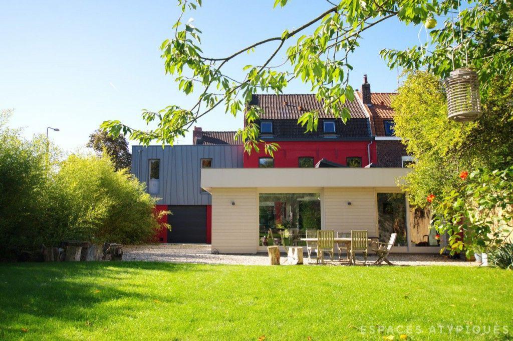 Lille : Maison bourgeoise avec extension contemporaine   archi ...