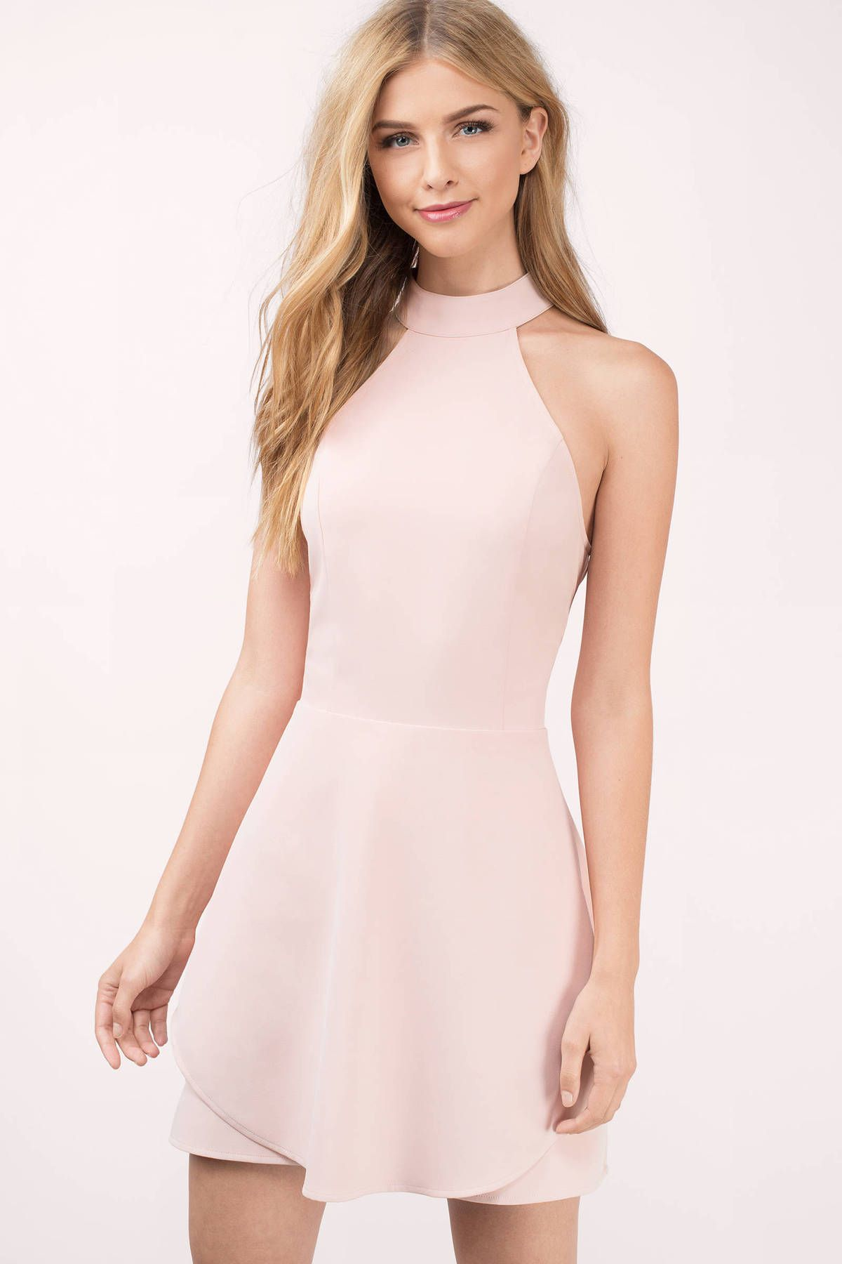 It will be love at first sight with the pink layered skater dress! 557d14d10