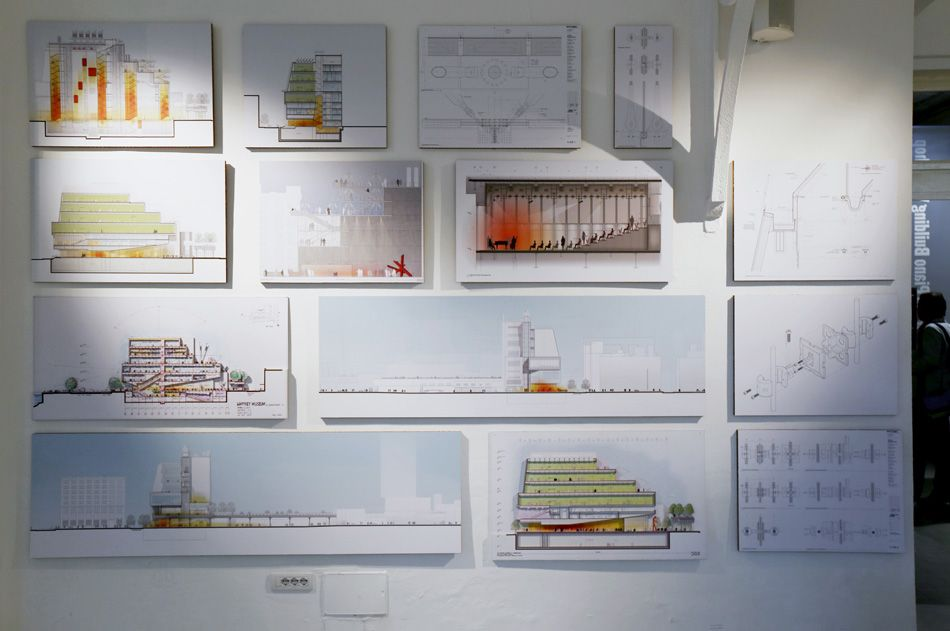 renzo piano's whitney museum project exhibition presented at casabella laboratio, milan