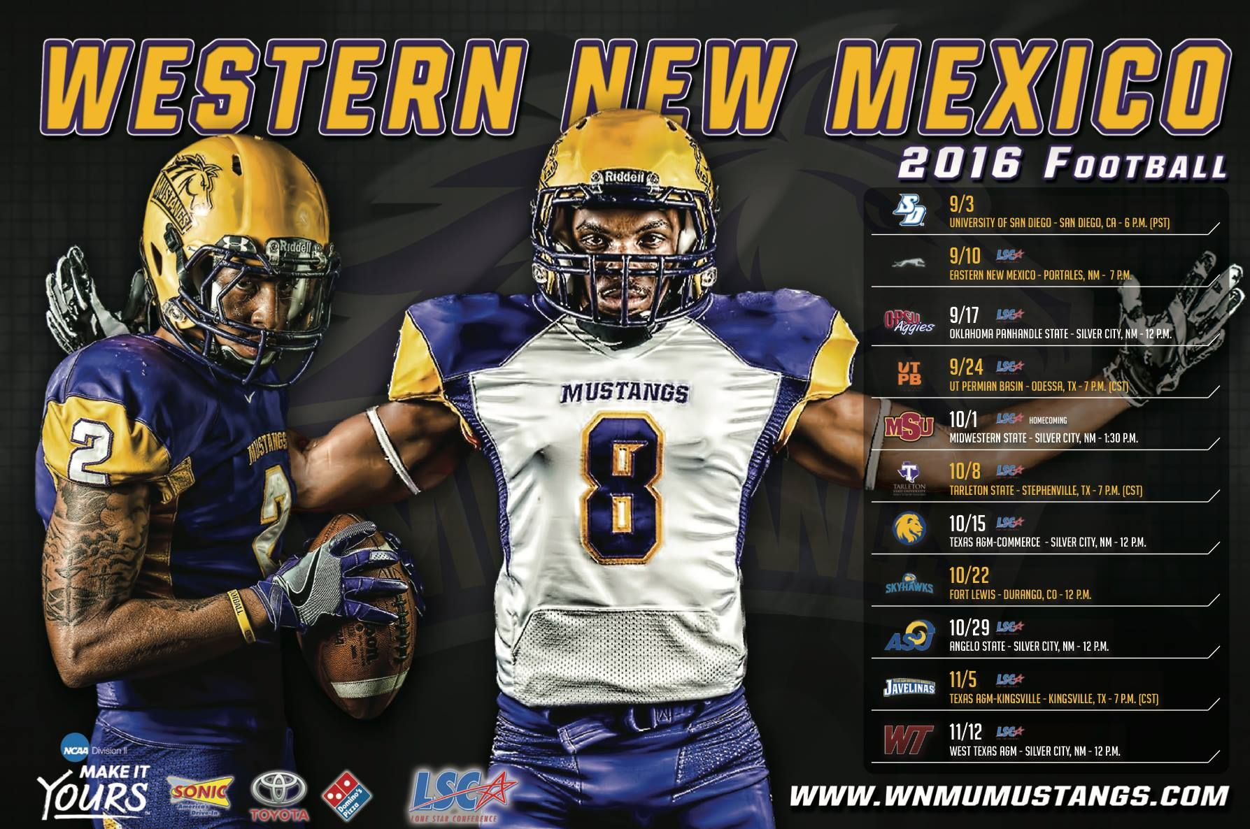 Western New Mexico Football Poster Printing Branding Pinterest