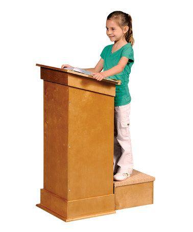 Guidecraft Little Lectern Zulily Lectern Guidecraft Beyond The Rack