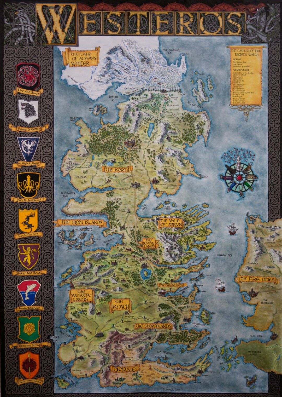 Pin by Dilay Aydoğdu on A Song of Ice and Fire in 2019 ... Game Of Thrones Map Hbo on game of thrones maps and families, true detective hbo, game of thrones hbo series, deadwood hbo, game of thrones hbo store, game of thrones maps pdf,