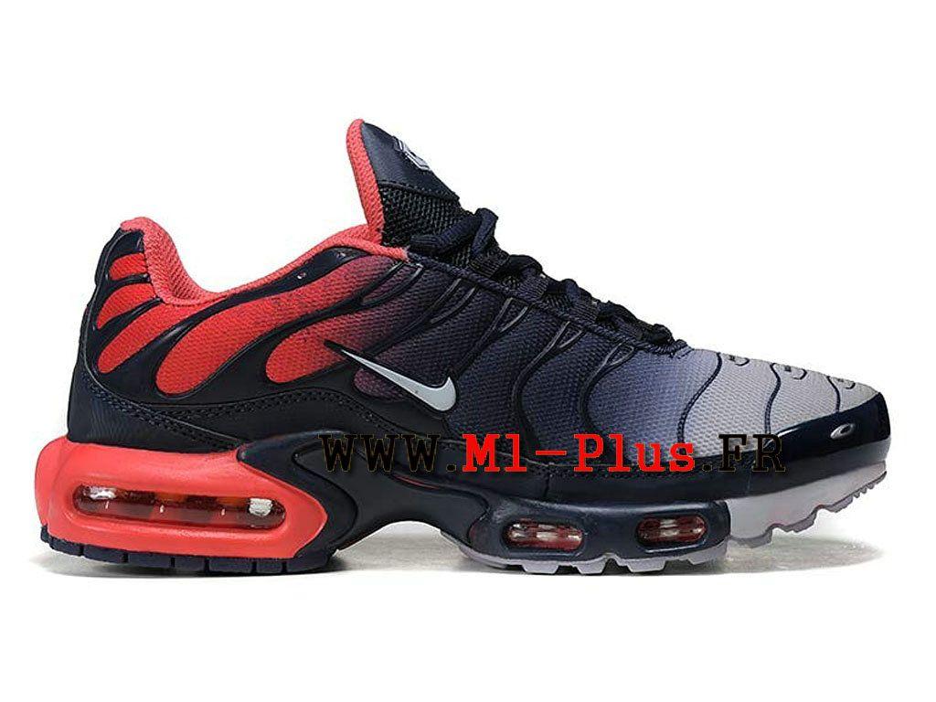 premium selection 3ff37 7bbb7 Nike Air Max Plus (Nike Tn 2015) Chaussures Nike Sportswear Pas Cher Pour  Homme Noir Rouge Gris 604133-A010