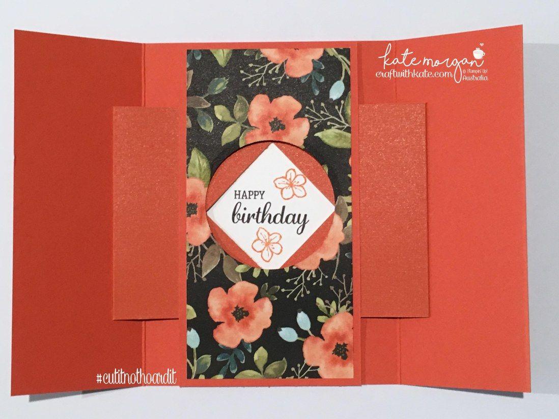 Fancy Folds For The Art With Heart Team Blog Hop Pinterest A5