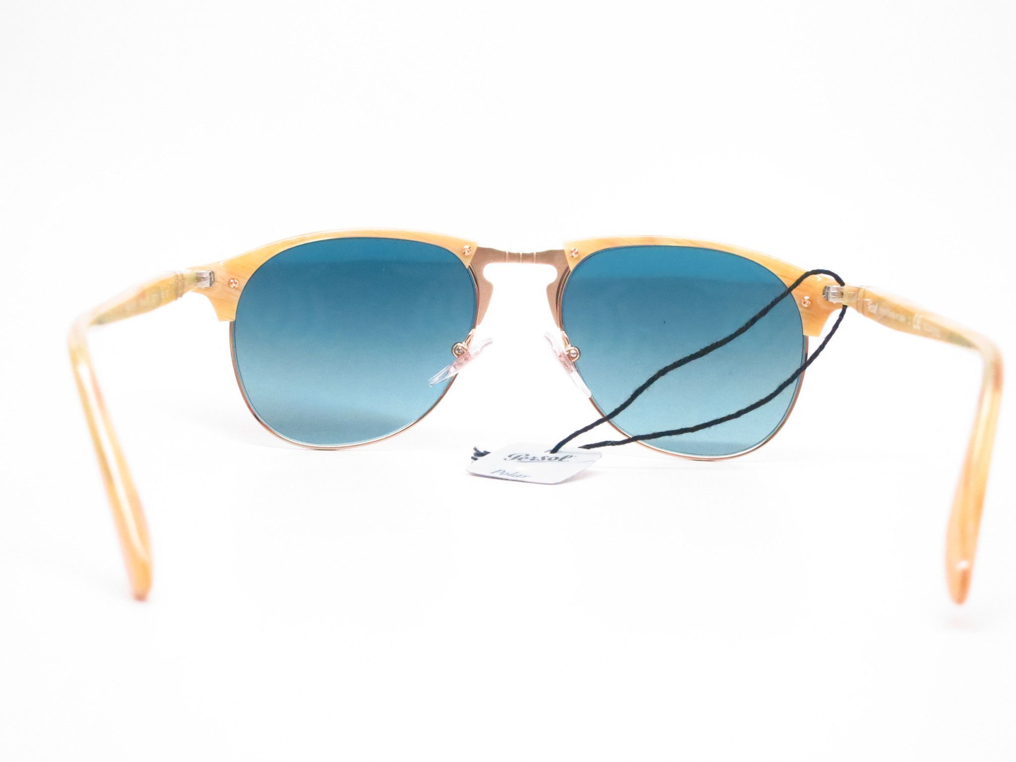 c421dce635 Persol PO 8649S 1046 S3 Light Horn Polarized Sunglasses