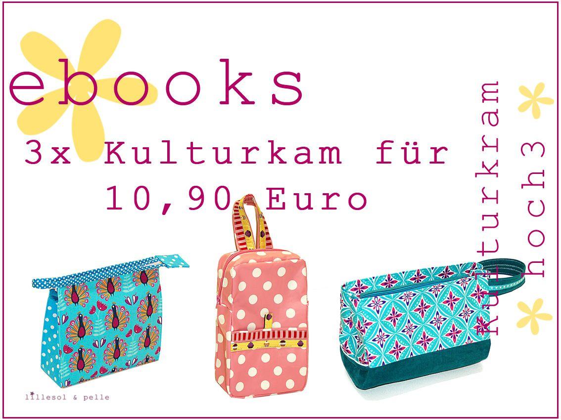 Ebooks / Schnittmuster Kulturkram Hoch 3