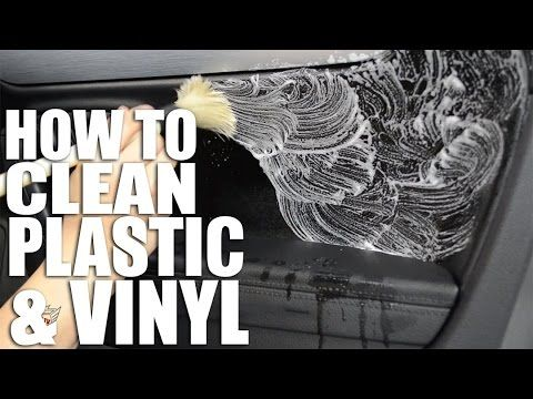 How To Clean Your Car Interior Plastics Vinyls Youtube Car Cleaning Hacks Car Cleaner Interior Cleaning Car Interior