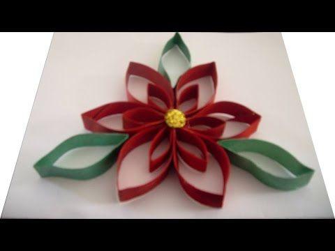 Manualidades para navidad adorno navide o reciclando - Manualidades navidad papel ...