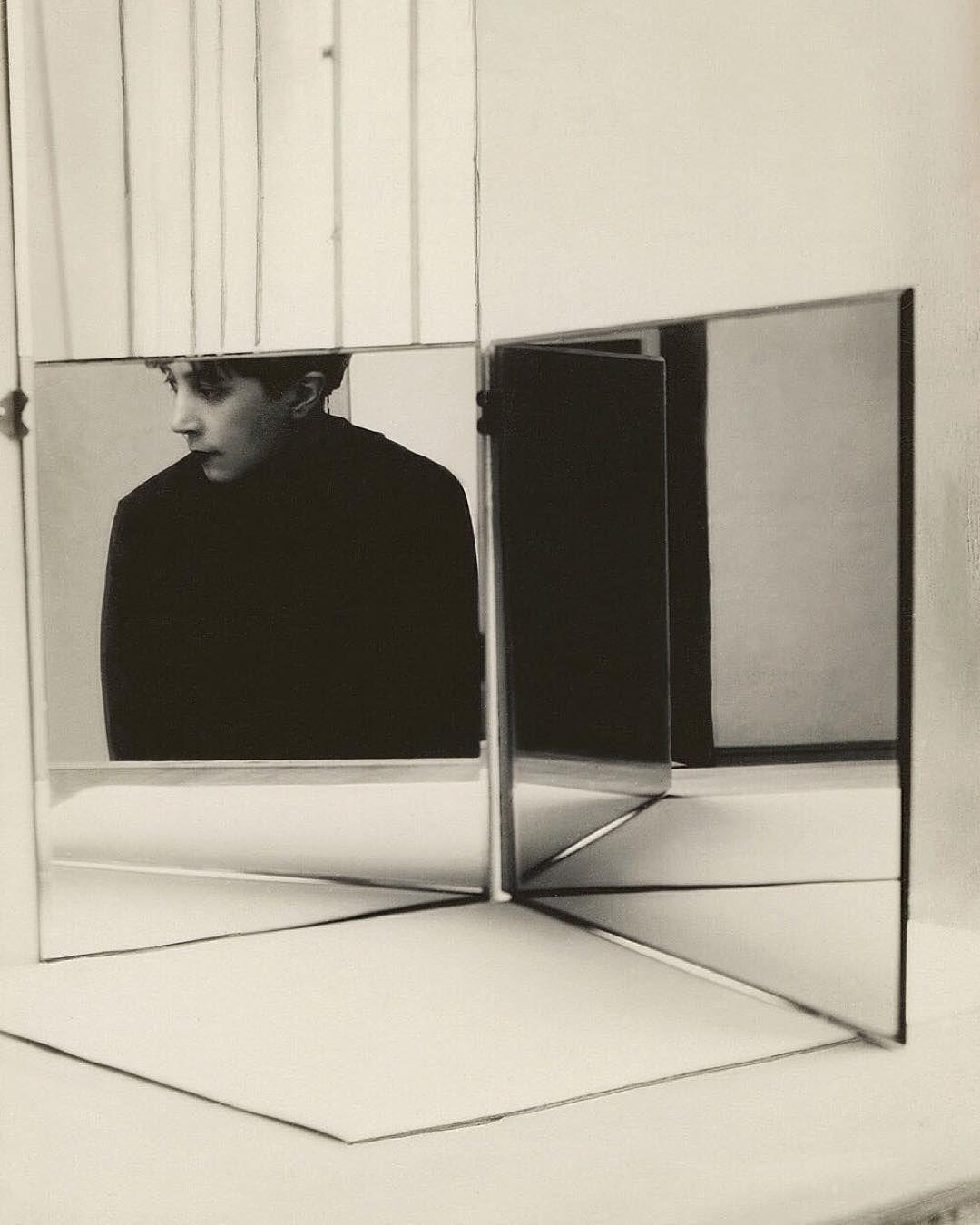 「Florence Henri, Portrait, 1928, Stiftung Ann und Jürgen Wilde, Pinakothek der Moderne, #Munich」