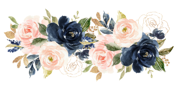 Blush Navy Floral What S In Your Phone Game Zazzle Com Flower Art Pink Watercolor Flower Floral Painting