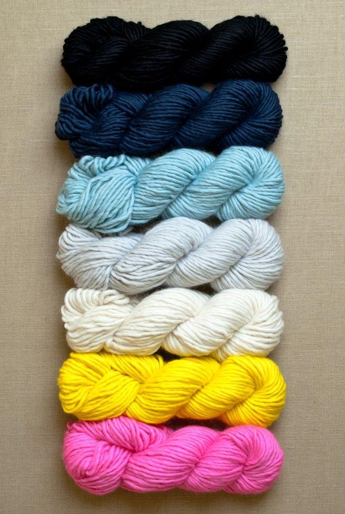 Yarn for Super Easy Crib Blanket in Super Soft Merino ...