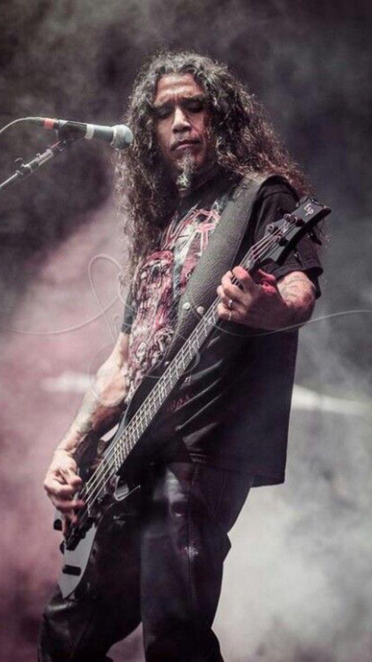 Slayer tom araya music pinterest heavy metal