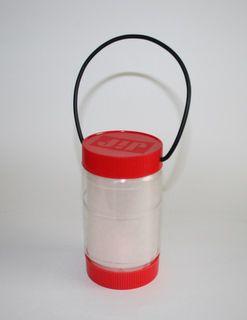 DIY Lantern from peanut butter jar